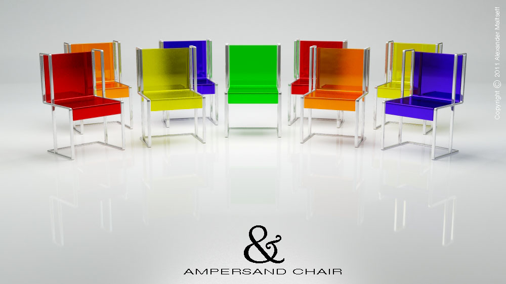 Alexander maltseff product design chairs for Household product design
