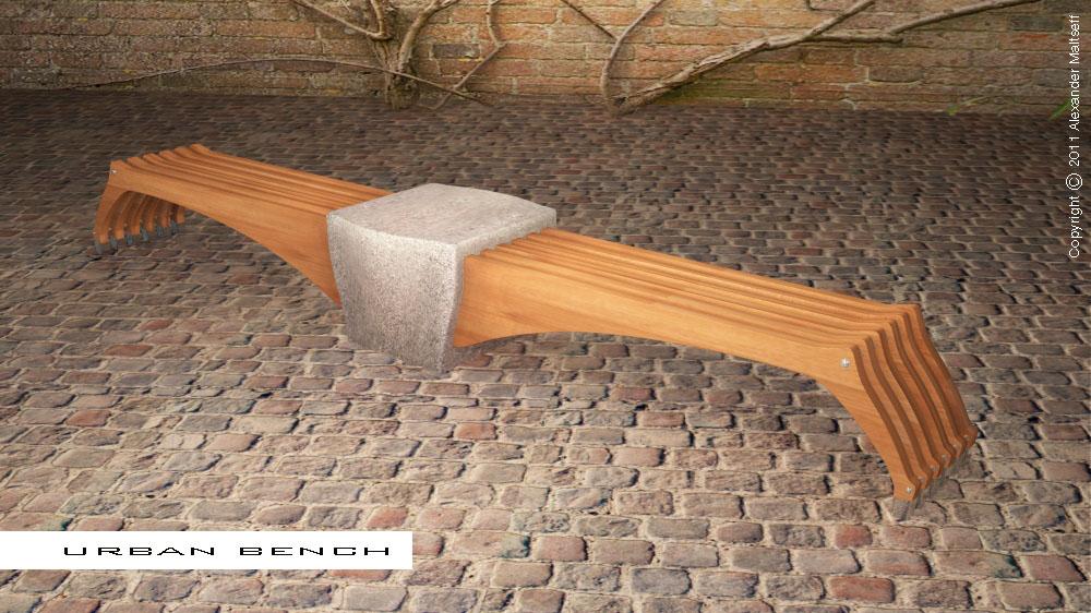 Alexander Maltseff Product Design Urban Bench